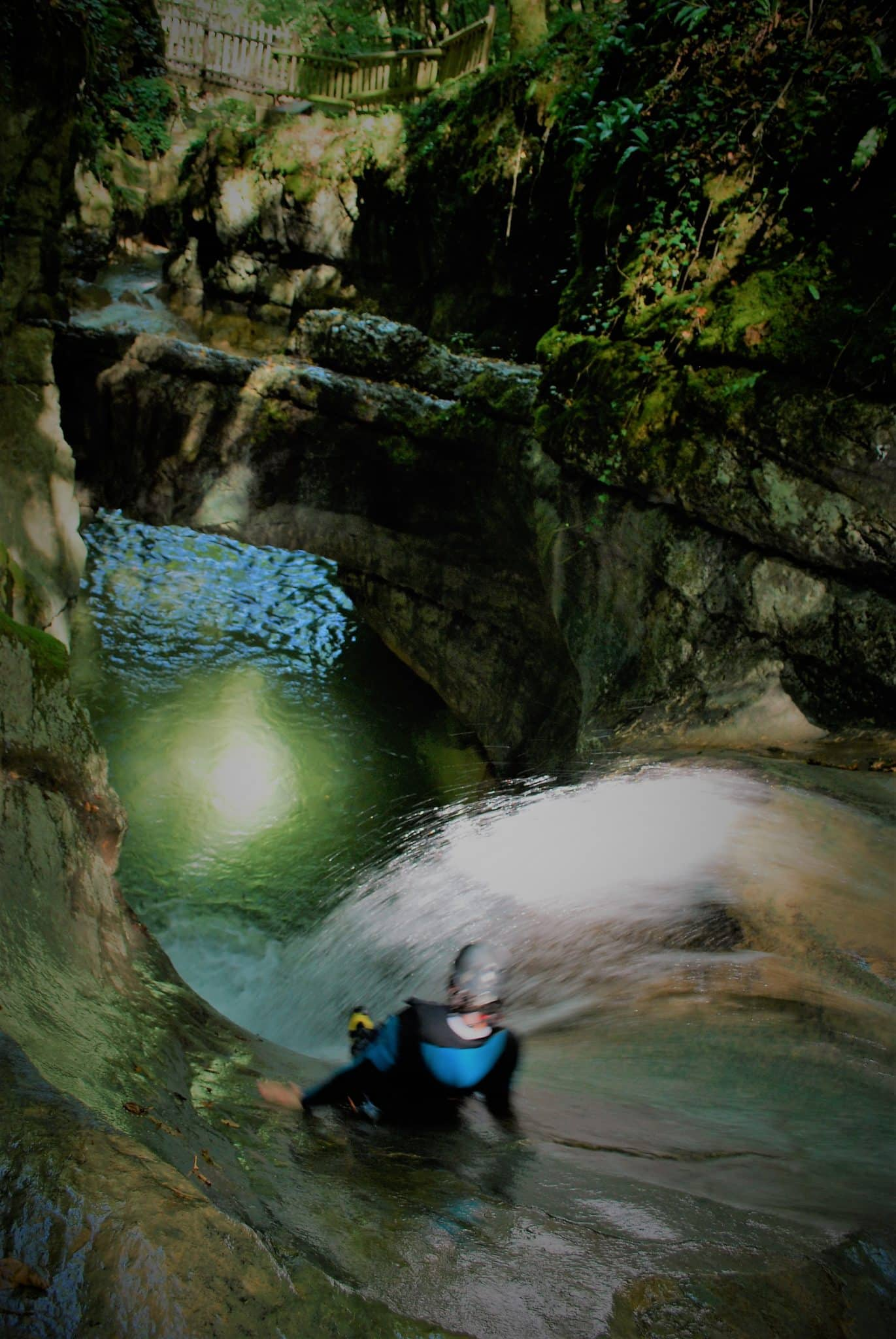 canyoning savoie chambéry