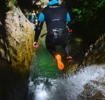 canyoning famille vercors ecouges