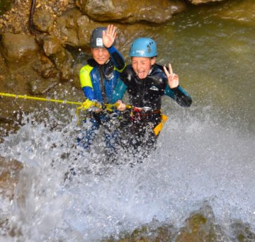rappel canyoning Vercors ecouges